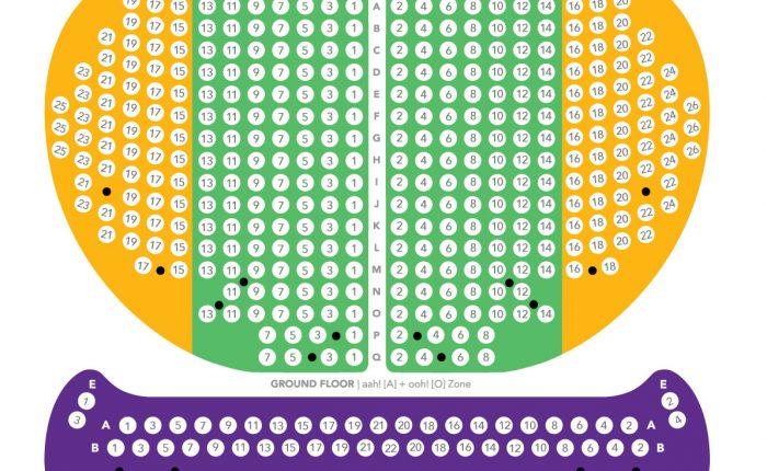 a o show seat plan saigon opera house