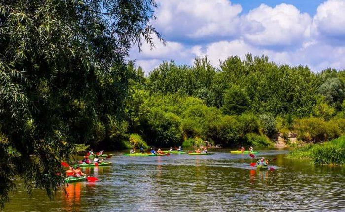 kayaking on mekong river ben tre