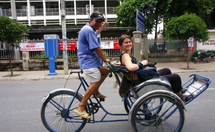 cyclo ride saigon