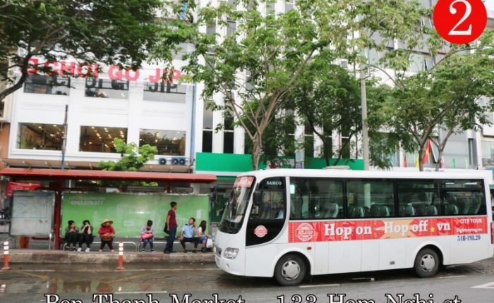 hop on hop off bus saigon