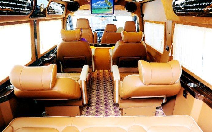luxury van airport