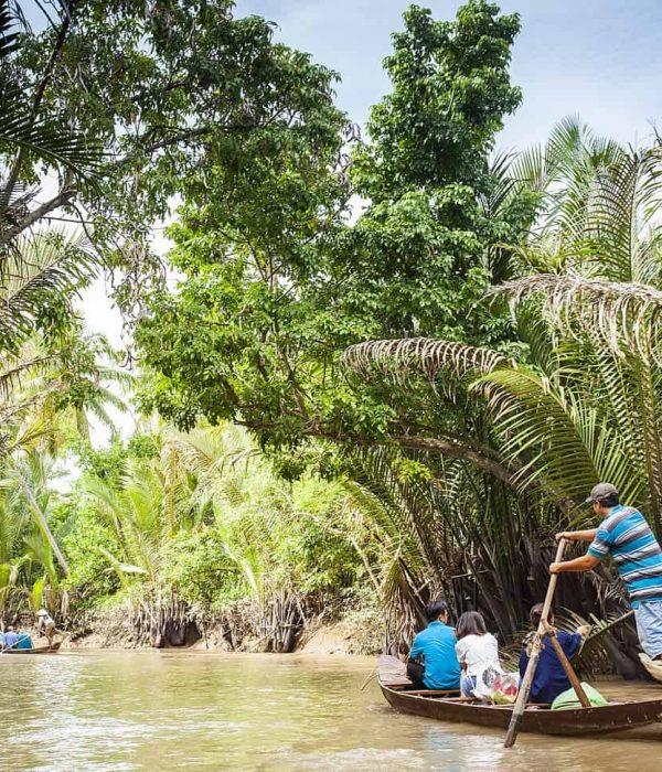 waterway mekong delta