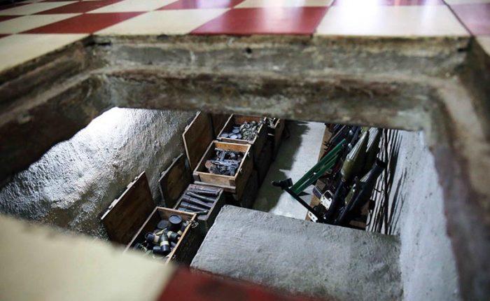 weapon storage saigon